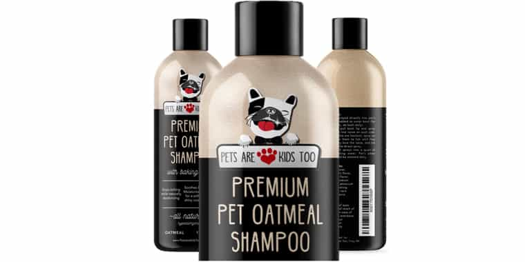 Pets Are Kids Too Pet Oatmeal Anti-Itch Shampoo and Conditioner