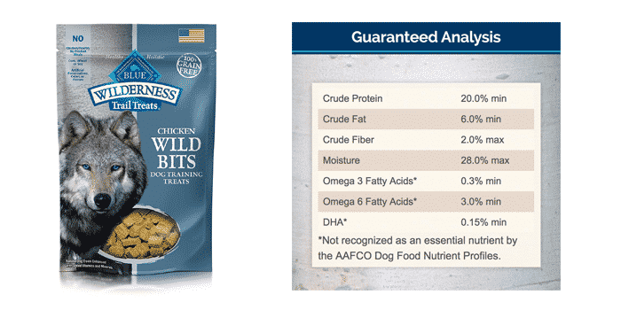 BLUE Wilderness Grain Free Dog Treats