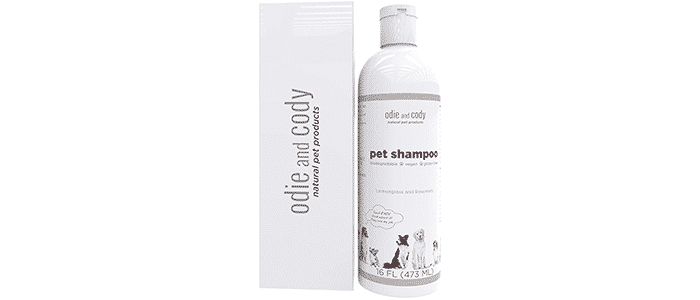 odie and cody natural dog shampoo