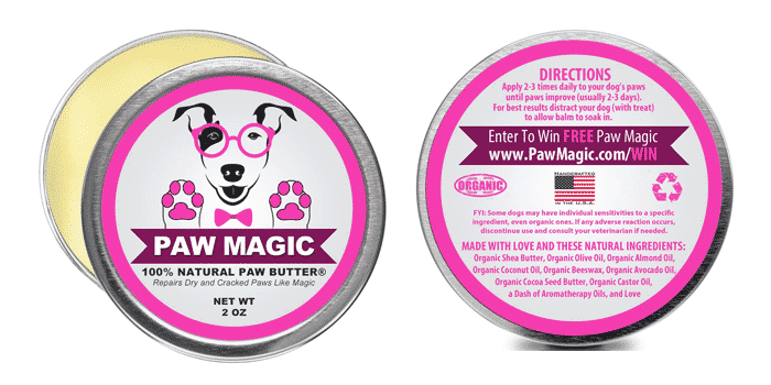 Paw Magic Organic Dog Paw Butter
