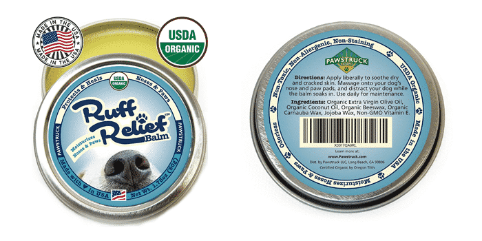 Pawstruck Organic Nose & Paw Wax Balm for Dogs