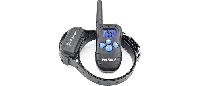 petrainer waterproof and rechargeable dog shock collar