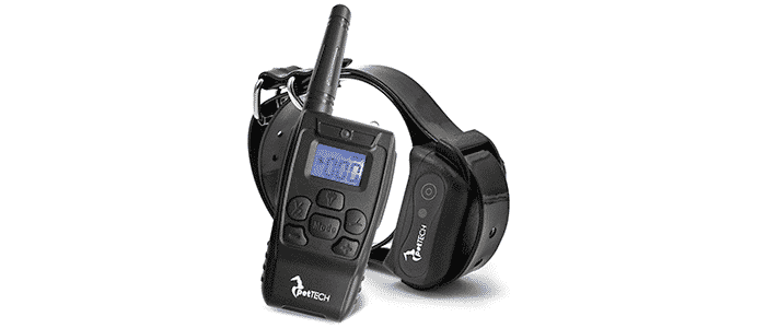 pettech remote-controlled dog shock collar
