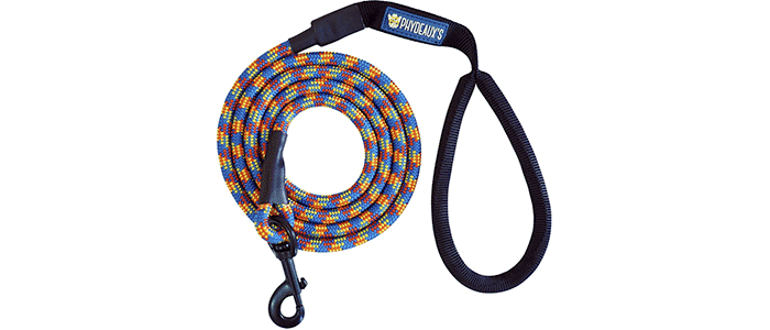 phydeauxs mountain climbing rope dog leash