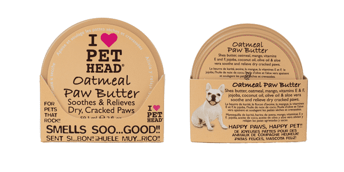 The Company of Animals Pet Head Oatmeal Natural Paw Butter