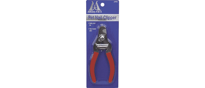 millers forge stainless steel dog nail clipper plier style