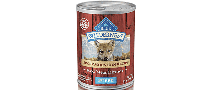 blue buffalo wilderness high protein grain free natural puppy wet food