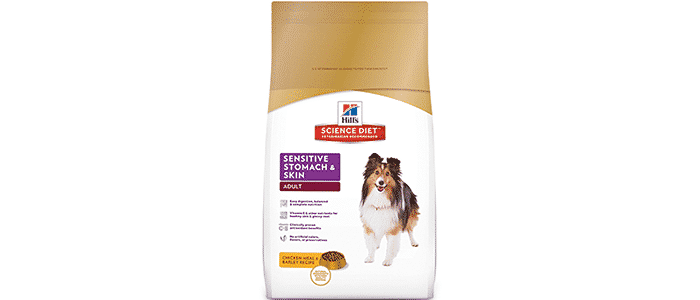 hills science diet adult sensitive stomach skin dog food