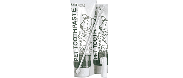 paws pals pet dog cat enzymatic toothpaste