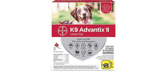 bayer k9 advantix ii flea tick and mosquito prevention