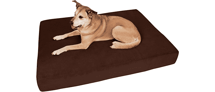 big barker 7 pillow top orthopedic dog bed for large and extra large breed dogs