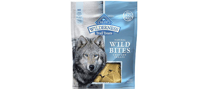 blue buffalo blue wilderness trail treats wild bites grain free soft-moist dog treats