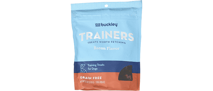 buckley 1 pouch bacon flavored dog training treats