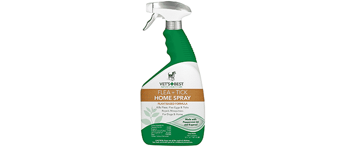 vets best flea and tick home spray for dogs and home
