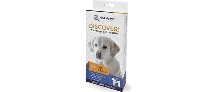 find my pet dog dna test