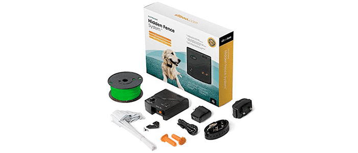 sit boo-boo advanced electric hidden dog fence