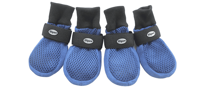 hipaw breathable mesh dog boots