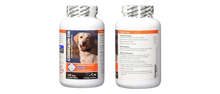 Nutramax Cosequin DS Plus Chewable Tablets
