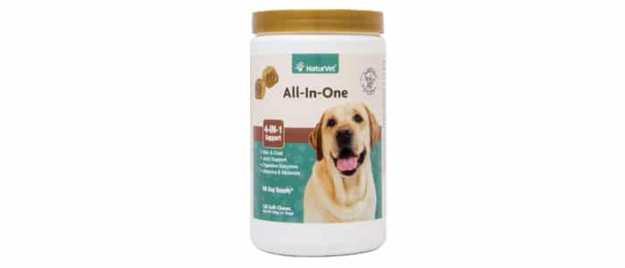 NaturVet All-in-One 4-in-1 Support Dog Supplement