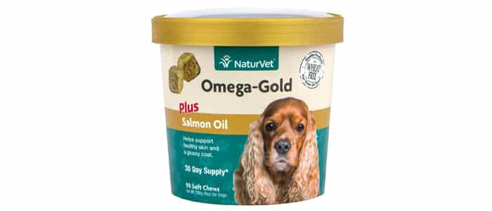 NaturVet Omega-Gold Plus Salmon Oil