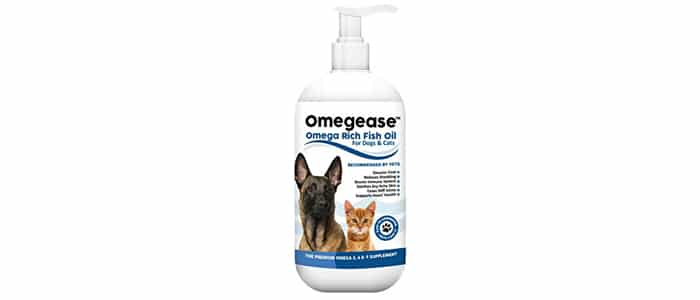 Finest For Pets Pure Omega Fish Oil for Dogs and Cats