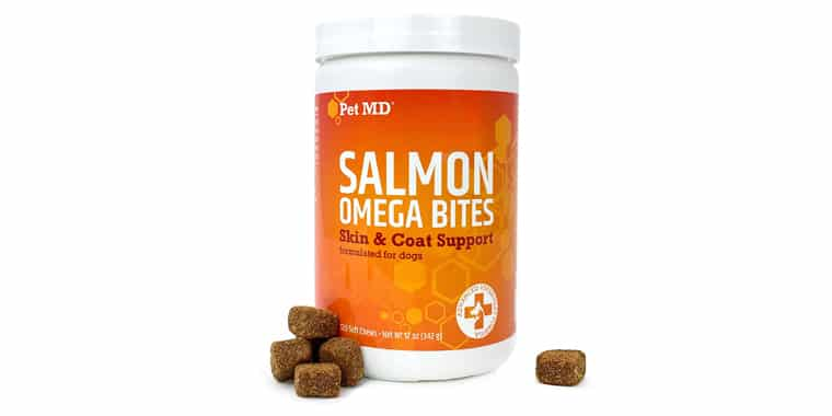 Pet MD Salmon Oil Omega 3 for Dogs