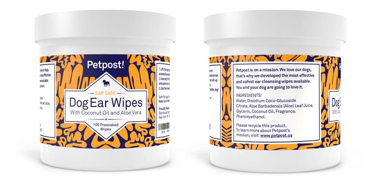 PestPost Pet Ear Cleaner Wipes