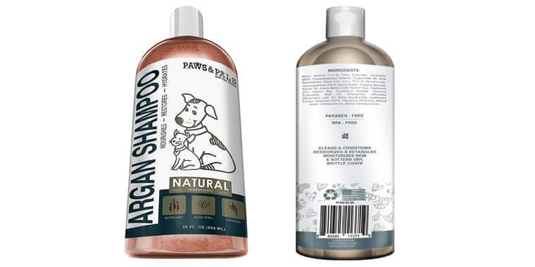 Paws and Pals Argan Puppy Shampoo and Conditioner