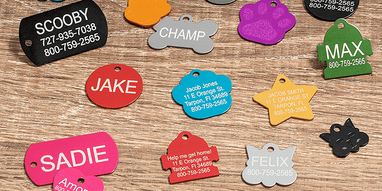 providence engraving pet id tags
