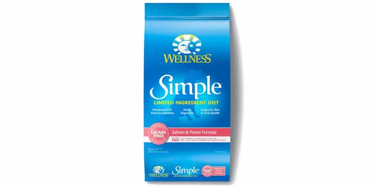 Wellness Simple Natural Limited Ingredient Dry Dog Food Salmon and Potato