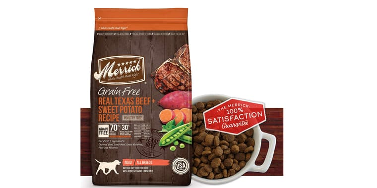 Merrick Grain-Free Dry Dog Food Recipes
