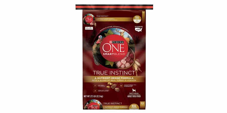 Purina ONE SmartBlend True Instinct Natural Adult Dry Dog Food