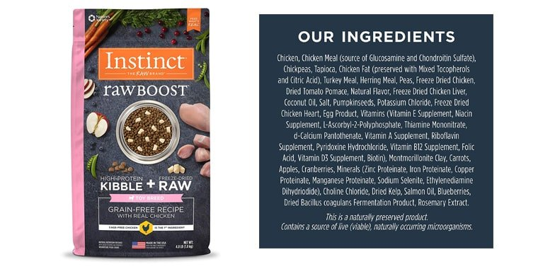 Instinct Raw Boost Small Breed & Toy Breed Dry Dog Food
