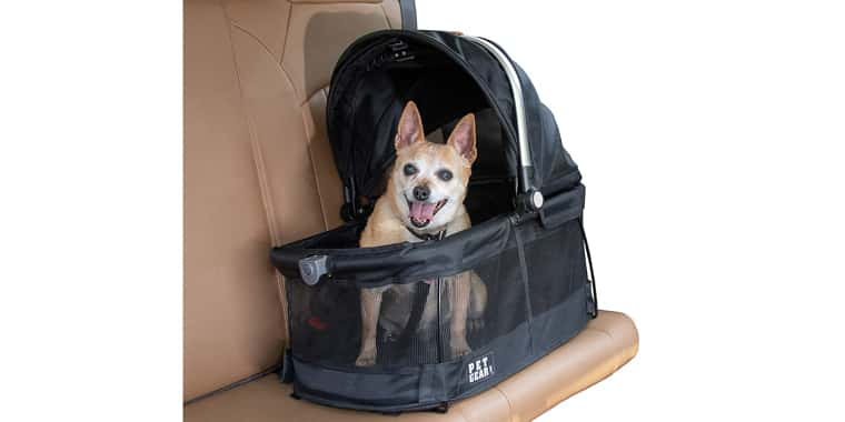 Pet Gear View 360 Pet Carrier & Car Seat for Small Dogs
