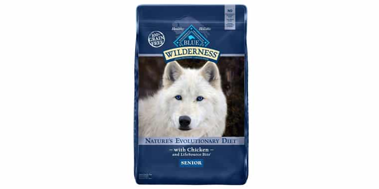 Blue Buffalo Wilderness Natural Senior Dry Dog Food