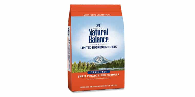 Natural Balance L.I.D. Limited Ingredient Diets Dry Dog Food Grain Free