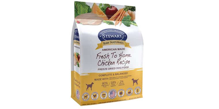 Stewart Raw Naturals Freeze-Dried Dog Food