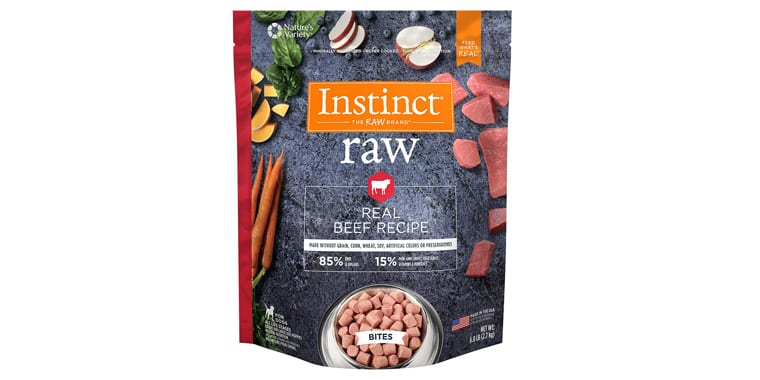 Natures Variety Instinct Frozen Raw Bites