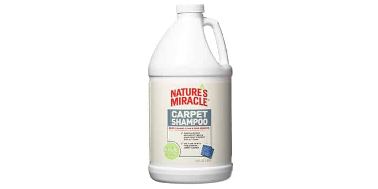 Nature's Miracle Pet Stain and Odor Carpet Shampoo