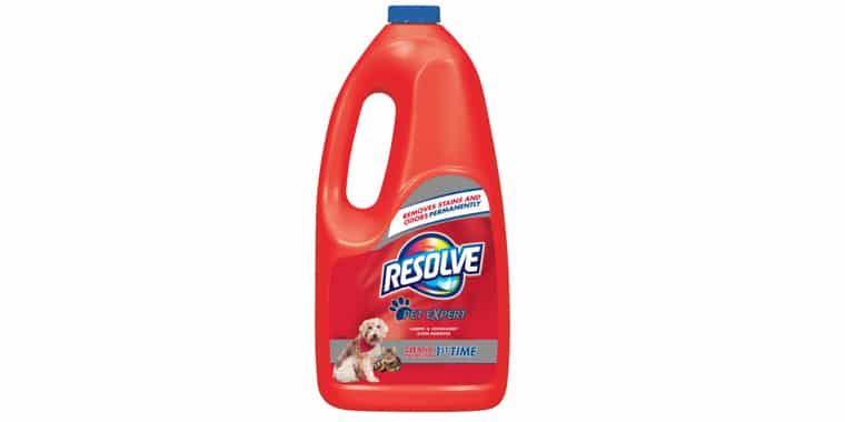 Resolve Pet Stain and Odor Carpet Cleaner