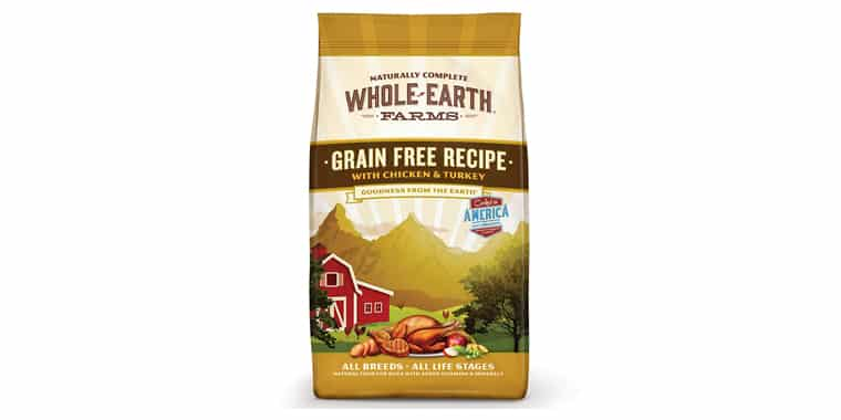 Whole Earth Farms Grain-Free Natural Dry Dog Food