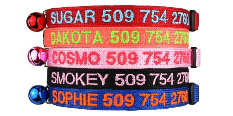 GoTags Personalized Cat Collars