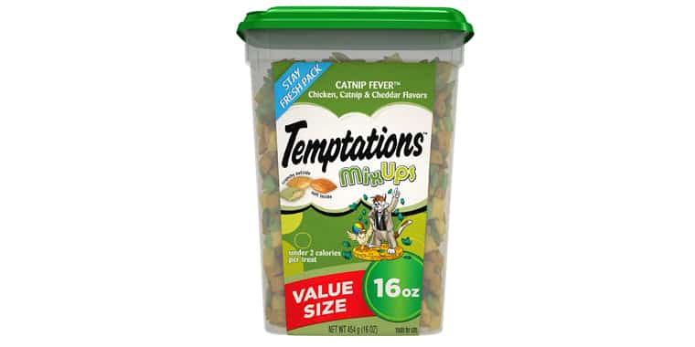 TEMPTATIONS MixUps Crunchy and Soft Cat Treats