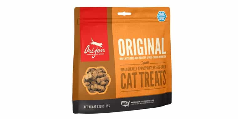 ORIJEN High-Protein Grain-Free Freeze-Dried Cat Treats