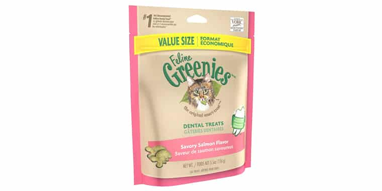 FELINE GREENIES Natural Dental Care Cat Treats