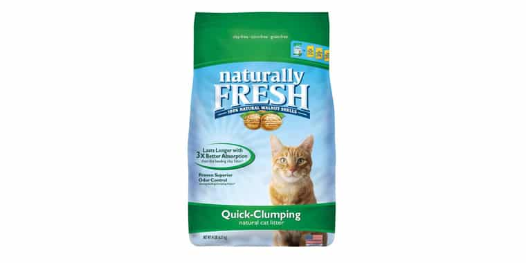 Naturally Fresh Walnut-Based Quick-Clumping Cat Litter