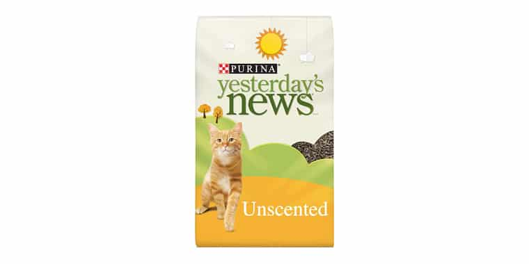Purina Yesterdays News Unscented Paper Cat Litter