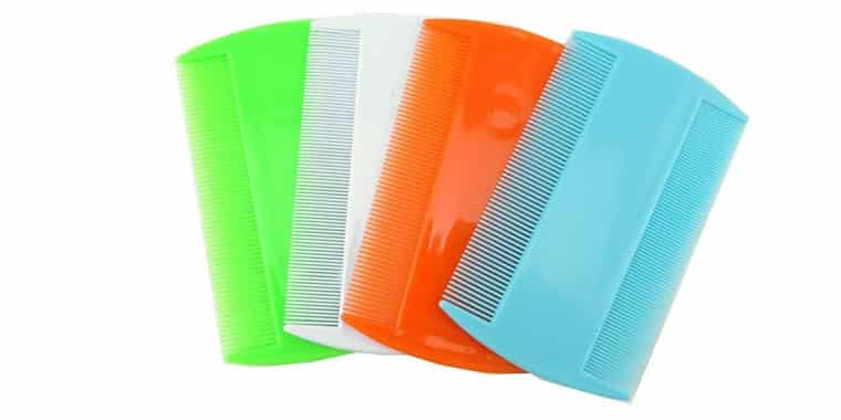 Honbay Double sided Pet Combs 4 Pack
