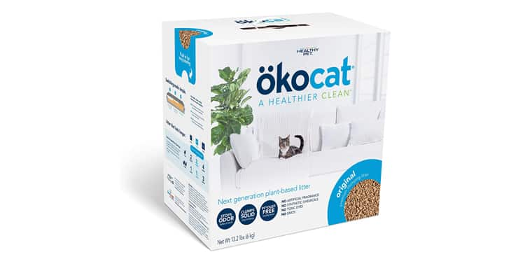 ökocat Natural Wood Clumping Cat Litter